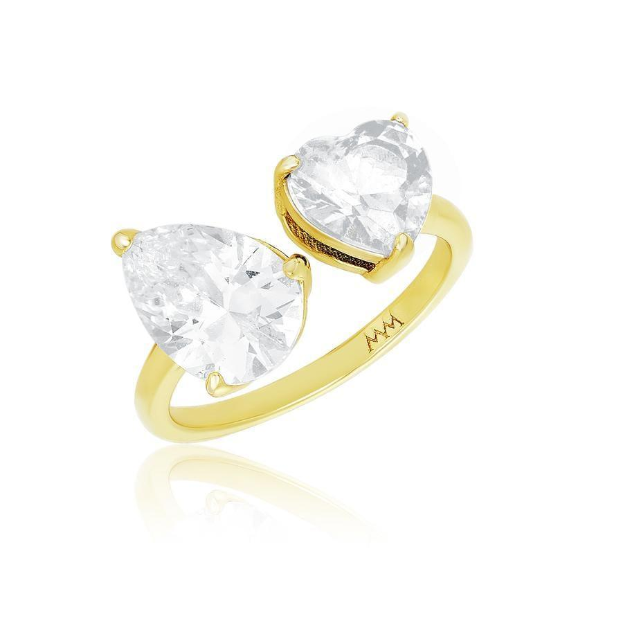 <p>We're in love with this unique <span>Melinda Maria Moonstruck Ring</span> ($58).</p>