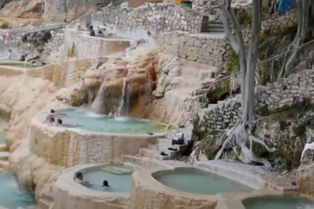 The water in these jacuzzis must be so pure