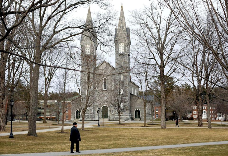 <p><strong>Established in 1794</strong></p><p><strong>Location: Brunswick, Maine</strong></p><p>Although Bowdoin was established in 1794, it didn't begin to really develop until the 1820s. Notable writers Nathaniel Hawthorne and Henry Wadsworth Longfellow were two early graduates of the school, which is now a private liberal arts college. </p>