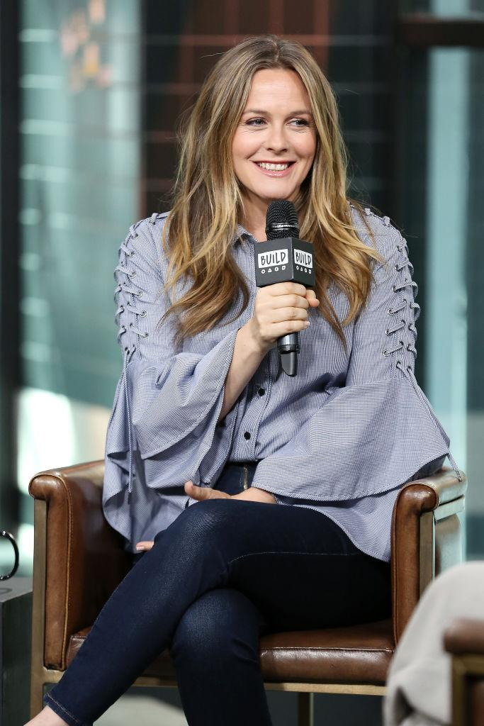 Alicia Silverstone at Build Studio on June 5, 2018 in New York City. (Photo: Getty Images)