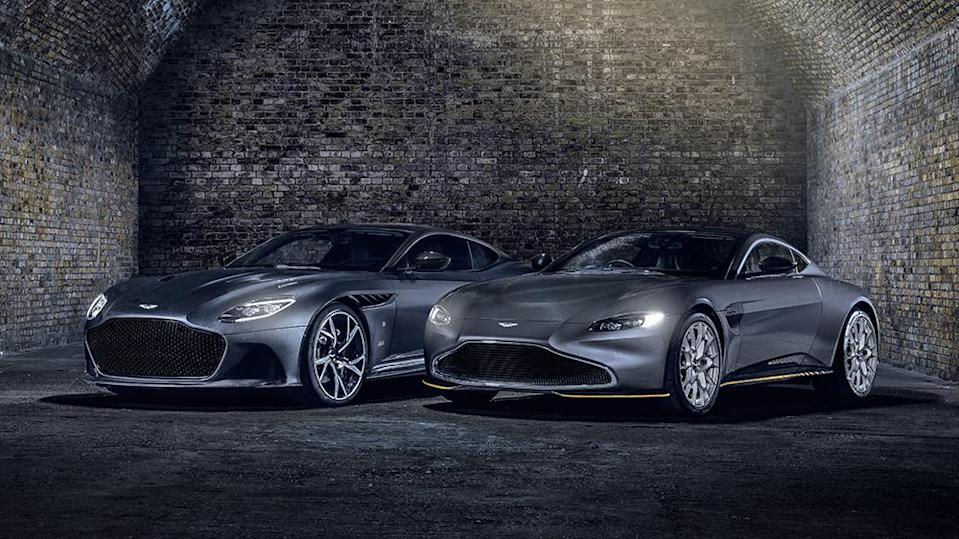 Aston Martin Releases Two Limited Edition Bond Inspired Cars Ahead Of No Time To Die