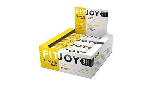 """<p><strong>FitJoy</strong></p><p>amazon.com</p><p><a href=""""http://www.amazon.com/dp/B072VBRTL6/?tag=syn-yahoo-20&ascsubtag=%5Bartid%7C2139.g.19519889%5Bsrc%7Cyahoo-us"""" rel=""""nofollow noopener"""" target=""""_blank"""" data-ylk=""""slk:BUY NOW"""" class=""""link rapid-noclick-resp"""">BUY NOW</a></p><p>We're pretty sure Grandma wasn't blending whey protein into her legendary dessert, but whatever. One of these bright-tasting bars has 220 calories, 20 grams of protein, and 11 grams of fiber. """"This has a solid amount of protein to really help boost intake post workout,"""" says <a href=""""https://shawsimpleswaps.com/contact/"""" rel=""""nofollow noopener"""" target=""""_blank"""" data-ylk=""""slk:Elizabeth Shaw, R.D"""" class=""""link rapid-noclick-resp"""">Elizabeth Shaw, R.D</a>. However, she notes that some people may have trouble digesting chicory root and could have an upset stomach.</p>"""