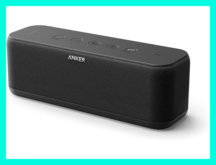 Today only: Save 25 percent on this Anker Soundcore Boost Bluetooth Speaker. (Photo: Amazon)