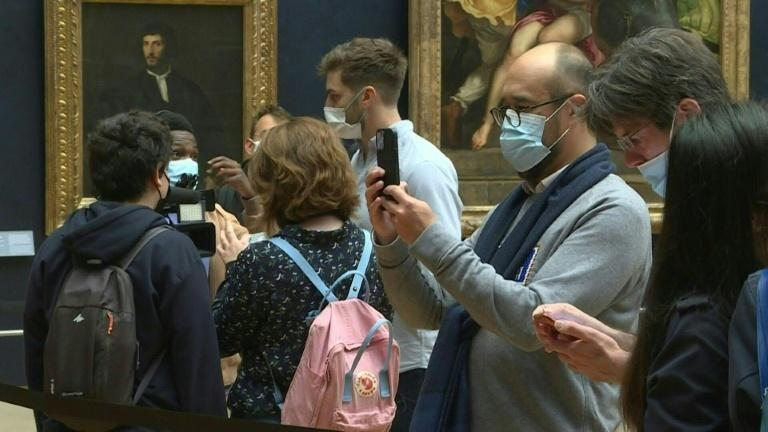 Louvre Museum in Paris reopens after six-months