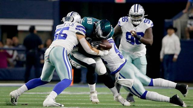 Don't buy the stats. These two high-profile Dallas Cowboys defenders have regressed.