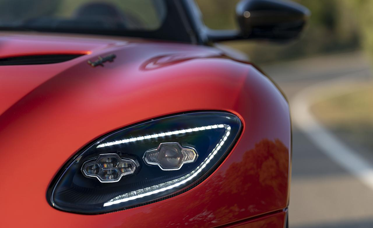 """<p>The 2020 Aston Martin DBS Superleggera Volante is the over-the-top convertible version of the already over-the-top DBS coupe. Read the full story <a href=""""http://www.caranddriver.com/reviews/a28266678/2020-aston-martin-dbs-superleggera-volante-drive/"""" target=""""_blank"""">here</a>.</p>"""