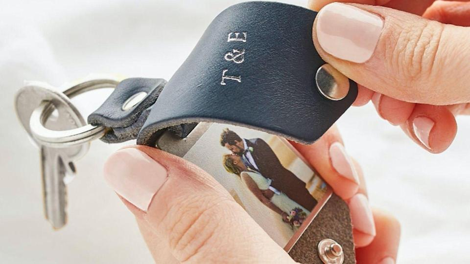 A discounted, personalized keychain is just one of the great deals you can score on Etsy during Black Friday.