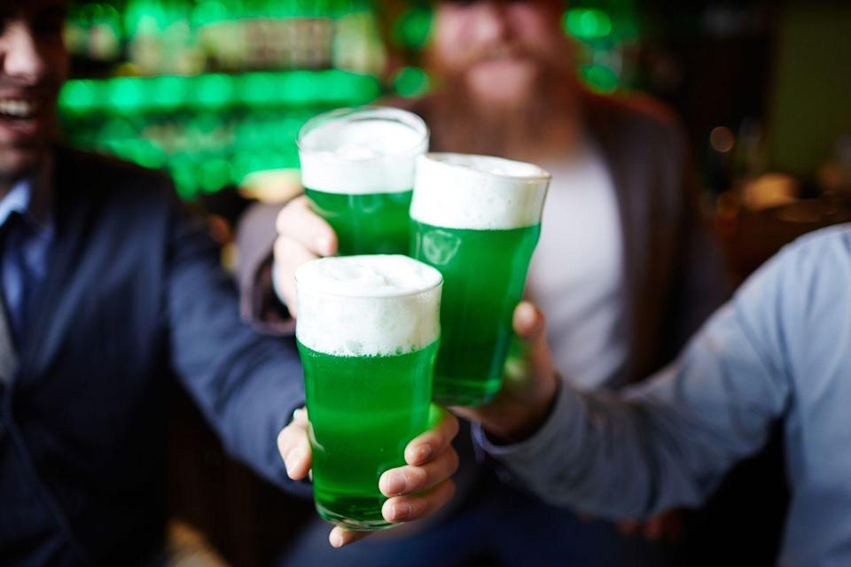 "<p>On St. Patrick's Day 2018, Americans were estimated to have spent a <a href=""https://nrf.com/media-center/press-releases/st-patricks-day-spending-hit-record-59-billion"" rel=""nofollow noopener"" target=""_blank"" data-ylk=""slk:record-breaking $5.9 billion"" class=""link rapid-noclick-resp"">record-breaking $5.9 billion</a>, with the average person paying $39.65. But it wasn't always such a <a href=""https://www.goodhousekeeping.com/holidays/g3264/green-drinks/"" rel=""nofollow noopener"" target=""_blank"" data-ylk=""slk:party holiday"" class=""link rapid-noclick-resp"">party holiday</a>...</p>"
