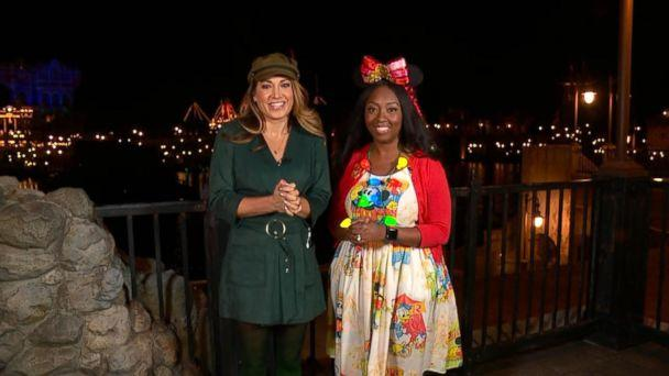 PHOTO: ABC News' Ginger Zee and Disney super fan Patrice Jenkins visit Tokyo Disneyland and its neighboring park, Tokyo DisneySea. (ABC News)