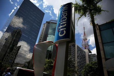 The building of a Citibank branch is seen at Paulista Avenue in Sao Paulo's financial center