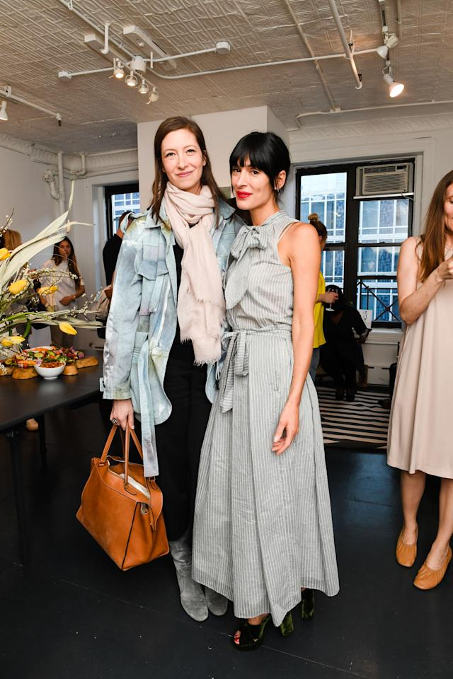 <p>At the Fabiana Filippi Spring Loungeeventhosted by Athena Calderone<span> on April 18, 2017.</span><span></span></p>