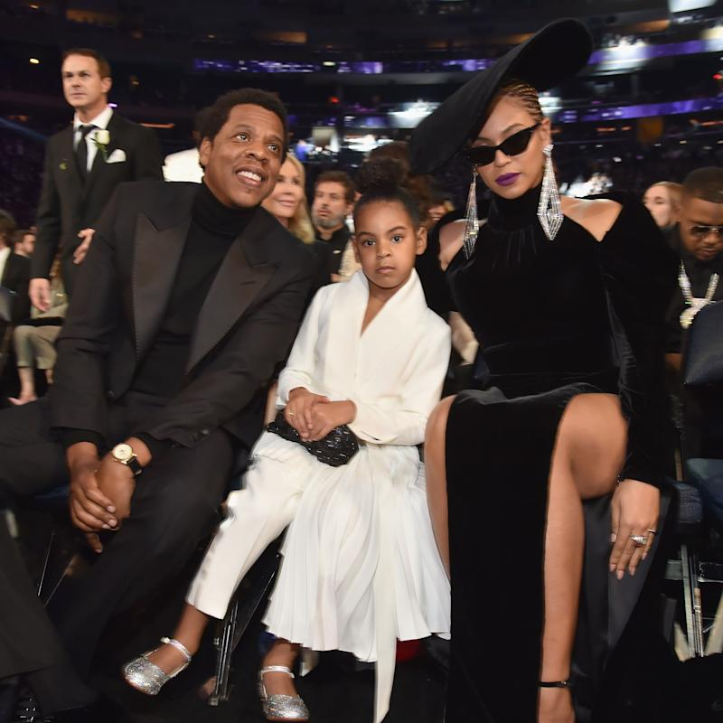 Beyoncé and Blue Ivy Shut Down the Grammys With Their Striking Mother-Daughter Beauty Looks