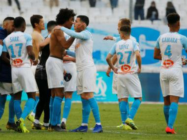 Ligue 1: Marseille survive late VAR drama to stay in Champions League hunt; relegation-threatened Monaco held by Reims