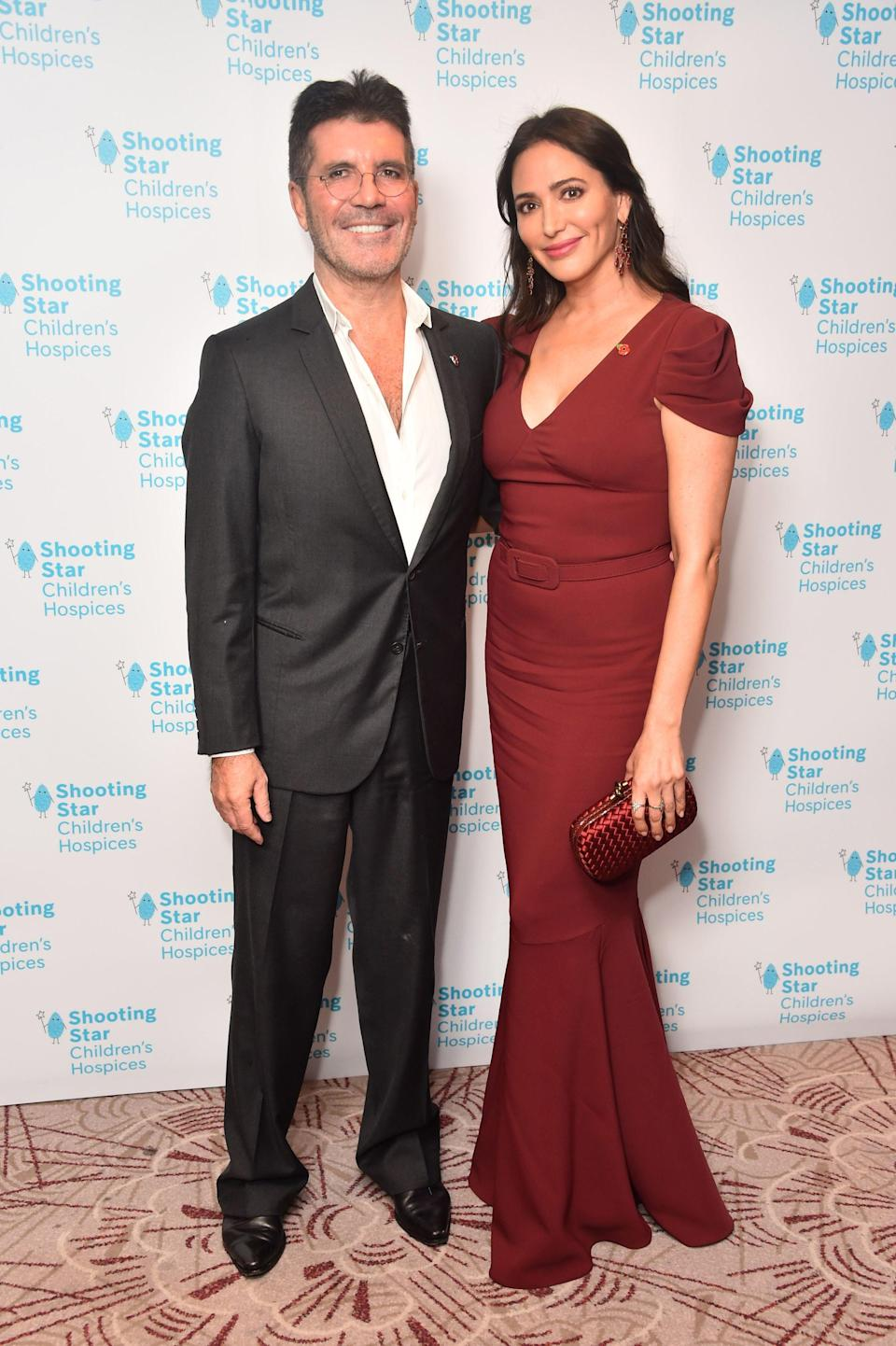 "Cowell with Lauren Silverman, who he said was ""amazing"" throughout his recoveryPA"