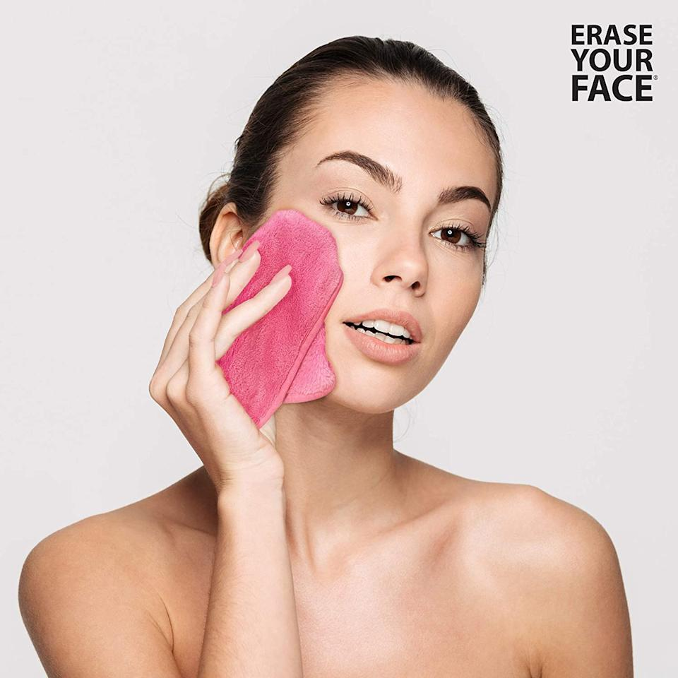 Erase Your Face Makeup Removing Cloths - Amazon.