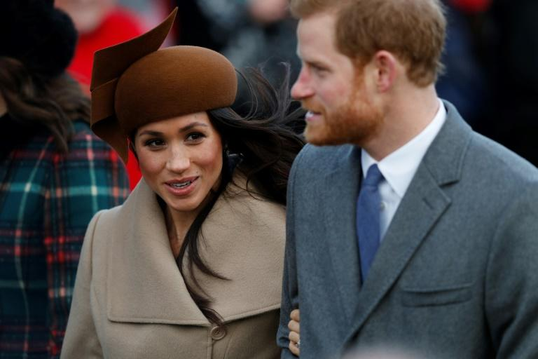 Britain's Prince Harry and US actress Meghan Markle will marry at St George's Chapel in Windsor on May 19