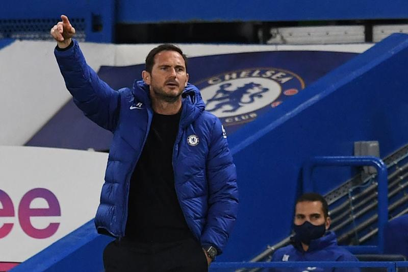 Frank Lampard is aiming to get back to winning ways in the league (POOL/AFP via Getty Images)