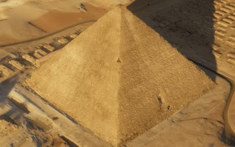 <span>The Great Pyramid of Giza</span>