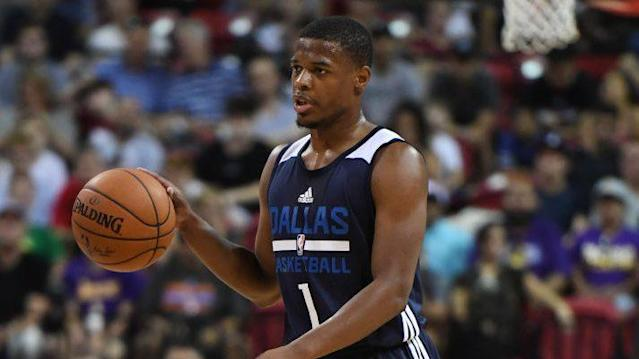 Mavericks first round pick Dennis Smith Jr. was asked to do something pretty strange in a pre-draft meeting with the Knicks. (NBC Sports) <br>