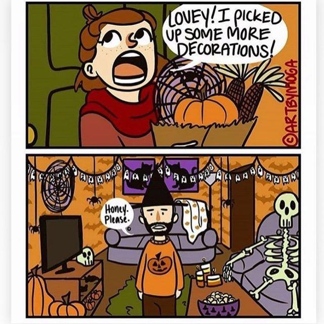 "<p>There can never be enough, okay?! </p><p><strong><a href=""https://www.goodhousekeeping.com/holidays/halloween-ideas/g421/halloween-decorating-ideas/"" target=""_blank"">RELATED: 40 Easy DIY Halloween Decorations and Decorating Ideas</a></strong></p><p><a href=""https://www.instagram.com/p/BzoOxuygSa8/"">See the original post on Instagram</a></p>"