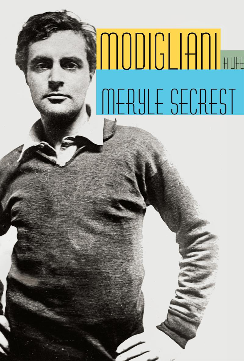 "In this book cover image released by Alfred A. Knopf, ""Modigliani: A Life"" by Meryle Secrest is shown. (AP Photo/Alfred A. Knopf)"