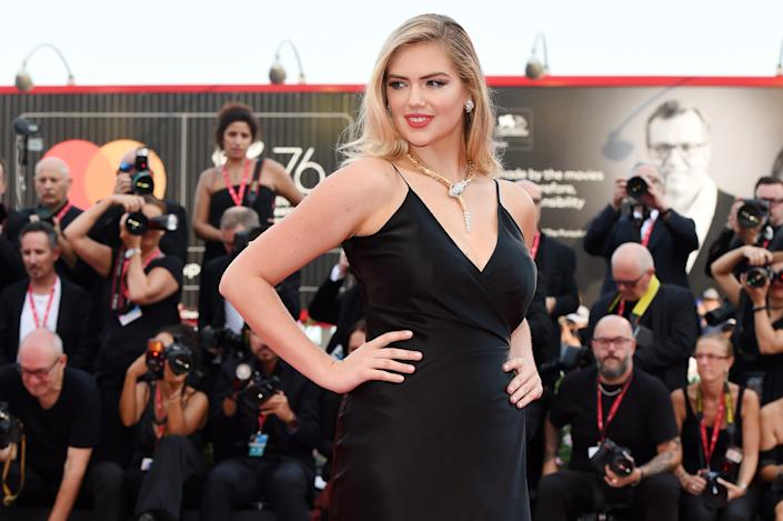 Model Kate Upton opened up about motherhood and breastfeeding in a new interview. (Photo by Stefania D'Alessandro/WireImage,)
