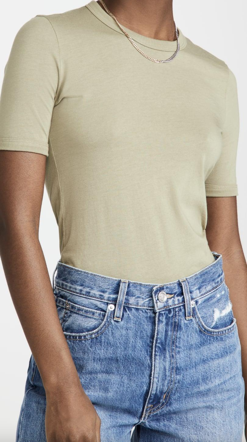 <p>This soft and comfy-looking <span>J Brand Marta Crew Neck Tee</span> ($49, originally $78) is one you'll reach for every day. Pair it with your favorite jeans and loafers for a casual yet put-together look.</p>
