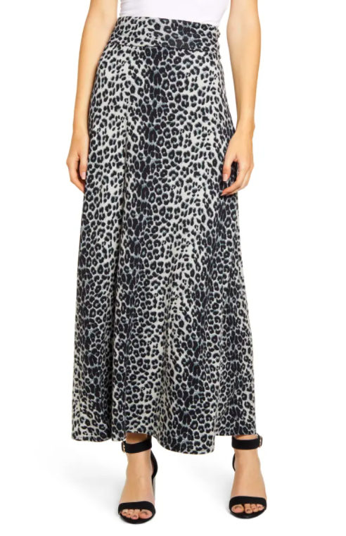 Loveappella roll top maxi skirt. Image via nordstrom.com.