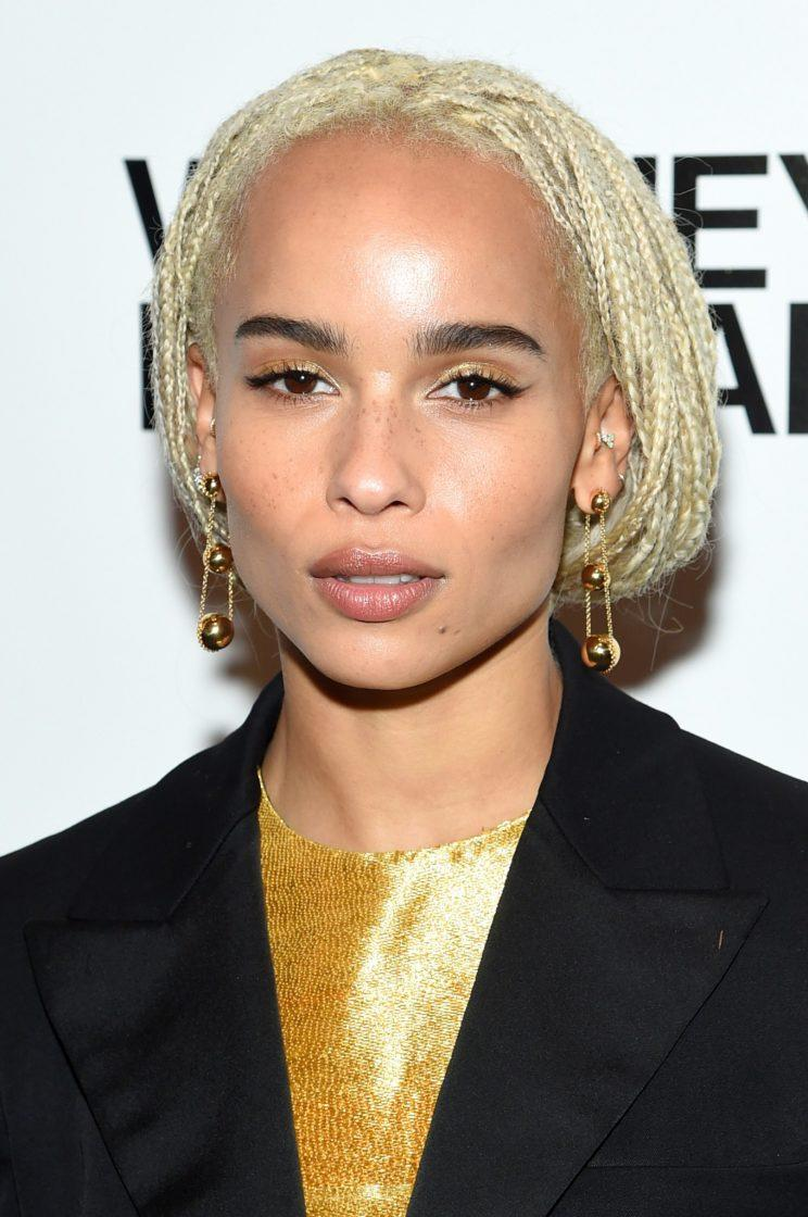 Zoë Kravitz advocates for Hollywood to be more educated and inclusive for women of color. (Photo by Getty Images)