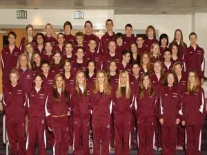 The Broadneck boys and girls varsity swimming teams — BroadneckAthletics.org