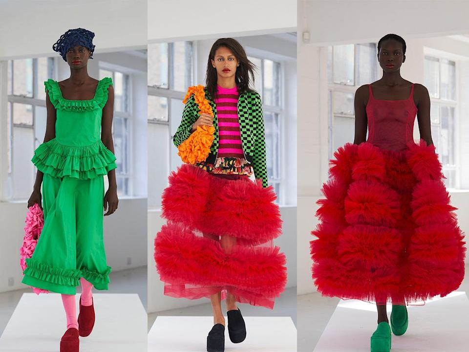 Molly Goddard has become one of the highlights of fashion week schedules (Molly Goddard)