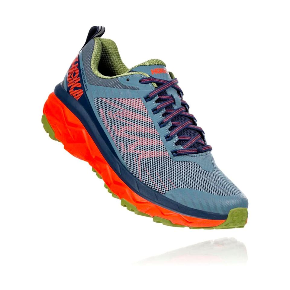 """<p><strong>Hoka One One</strong></p><p><a href=""""https://go.redirectingat.com?id=74968X1596630&url=https%3A%2F%2Fwww.hokaoneone.com%2Fsale%2Fchallenger-atr-5%2F1104093.html&sref=https%3A%2F%2Fwww.menshealth.com%2Ftechnology-gear%2Fg36099041%2Fhoka-one-one-2021-sale%2F"""" rel=""""nofollow noopener"""" target=""""_blank"""" data-ylk=""""slk:BUY IT HERE"""" class=""""link rapid-noclick-resp"""">BUY IT HERE</a></p><div class=""""product-slide-price""""><strong><del>$130</del> <br>$103.99</strong></div><p>With it's highly cushioned foam and soft-lugged outsole, the Challenger has become my favorite winter running shoe—it handles snow and slush like a champ. It also tames just about any trail you'll find, any time of the year, and proves comfortable if you have to log a couple pavement miles to get to and from the trailhead. This is a steal for Hoka's most versatile shoe. </p>"""