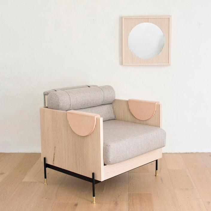 "$5350, Etsy. <a href=""https://www.etsy.com/listing/795246015/fluted-chair-club-chair-arm-chair?ref=finds_l&remove_offset=0"" rel=""nofollow noopener"" target=""_blank"" data-ylk=""slk:Get it now!"" class=""link rapid-noclick-resp"">Get it now!</a>"