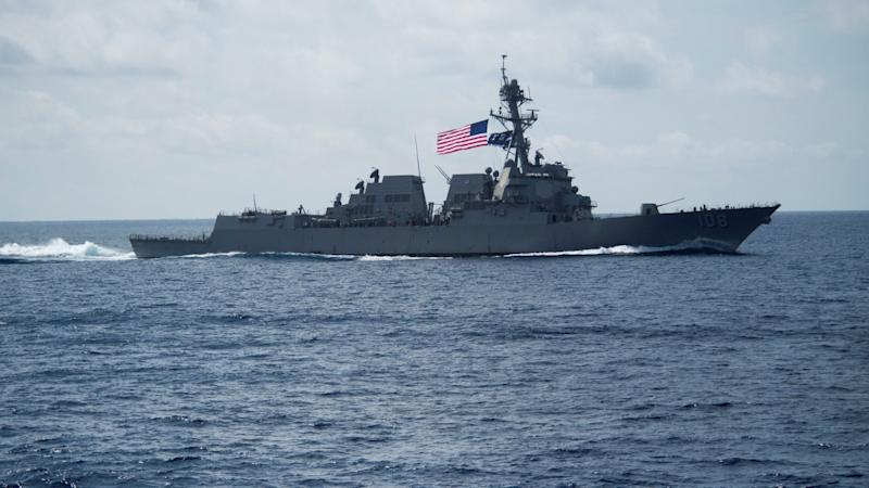 China 'expels trespassing' US Navy destroyer from waters off Paracel Islands