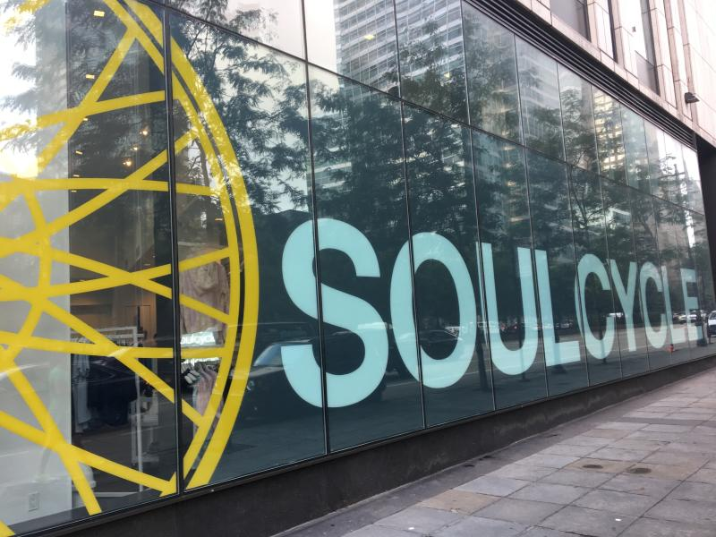 SoulCycle, shown in a New York City location, is part of a boycott of the chain of exercise studios — which also includes Blink Fitness and Equinox —in response to owner billionaire Stephen Ross holding a fundraiser for President Donald Trump. (Photo: Rainmaker Photo/MediaPunch /IPX)