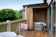 """<p>There's a reason the wait lists at Soho Farmhouse are so lengthy - everything in this Oxfordshire retreat is extremely well considered, from the baked bread left in your room to your personalised bicycle. Then of course there's the most Instagrammed bath in the world, positioned overlooking a lake with just the birds as your soundtrack.</p><p>For more information, visit <a href=""""https://www.sohofarmhouse.com/"""" rel=""""nofollow noopener"""" target=""""_blank"""" data-ylk=""""slk:Sohofarmhouse.co.uk"""" class=""""link rapid-noclick-resp"""">Sohofarmhouse.co.uk</a></p>"""