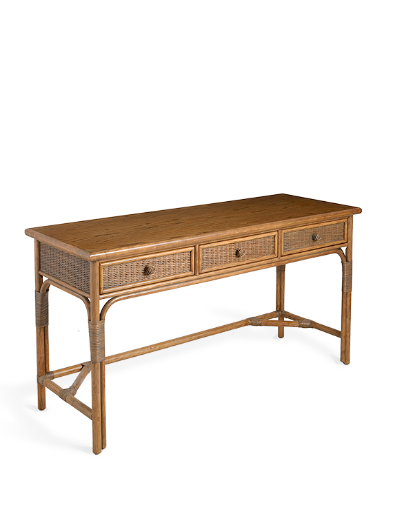 """<p>soane.co.uk</p><p><strong>$600.00</strong></p><p><a href=""""https://www.soane.co.uk/furniture/the-rattan-gregory-desk-large"""" rel=""""nofollow noopener"""" target=""""_blank"""" data-ylk=""""slk:Shop Now"""" class=""""link rapid-noclick-resp"""">Shop Now</a></p><p>With a vintage 1970s appeal, <a href=""""https://www.soane.co.uk/"""" rel=""""nofollow noopener"""" target=""""_blank"""" data-ylk=""""slk:Soane's"""" class=""""link rapid-noclick-resp"""">Soane's</a> compact desk is a stylish addition to you home office and handmade in their Leicestershire rattan workshop.<br></p>"""