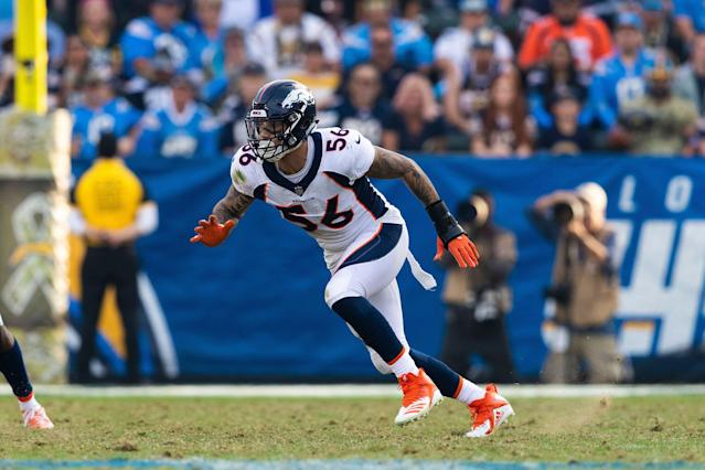 The Baltimore Ravens and former Denver Broncos pass-rusher Shane Ray have reportedly agreed to contract terms. (Getty Images)