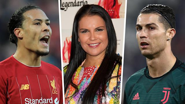 Katia Aveiro jumped to the defence of her brother on social media in response to a tongue-in-cheek remark from the Liverpool defender
