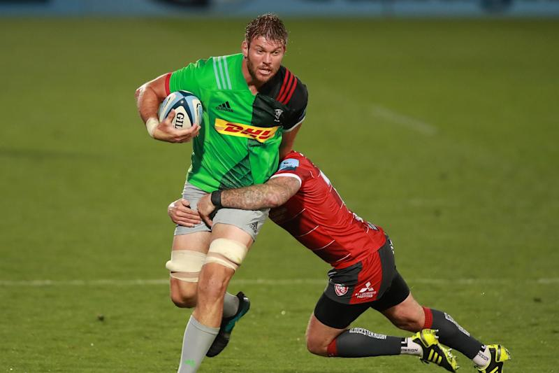 Quins travel to Sale for tonight's rearranged final,: Getty Images