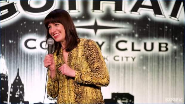 Ophira Eisenberg appears on stage at SXSW via New York City's Gotham Comedy Club on March 17, 2021.