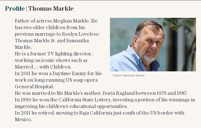 Profile | Thomas Markle