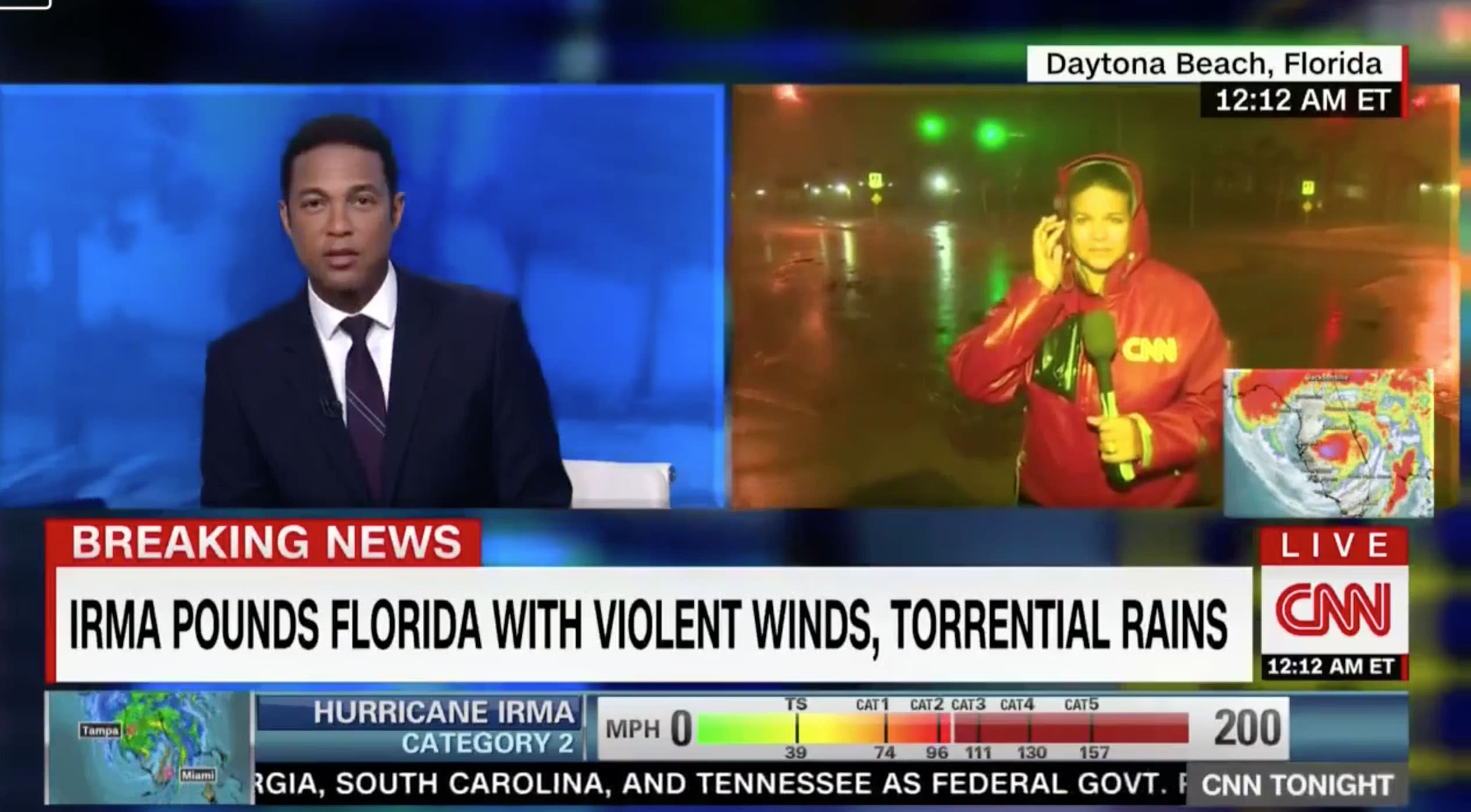 CNN segment ends awkwardly when Don Lemon comments on 'chunky' reporter's curves