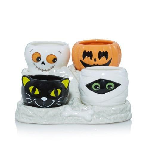 <p>This <span>Friends Tea Light Candle Holder</span> ($35) is the cutest thing we've ever seen! Just add tea lights.</p>