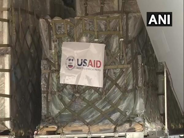 Another US military aircraft loaded with vital medical supplies arrived in India