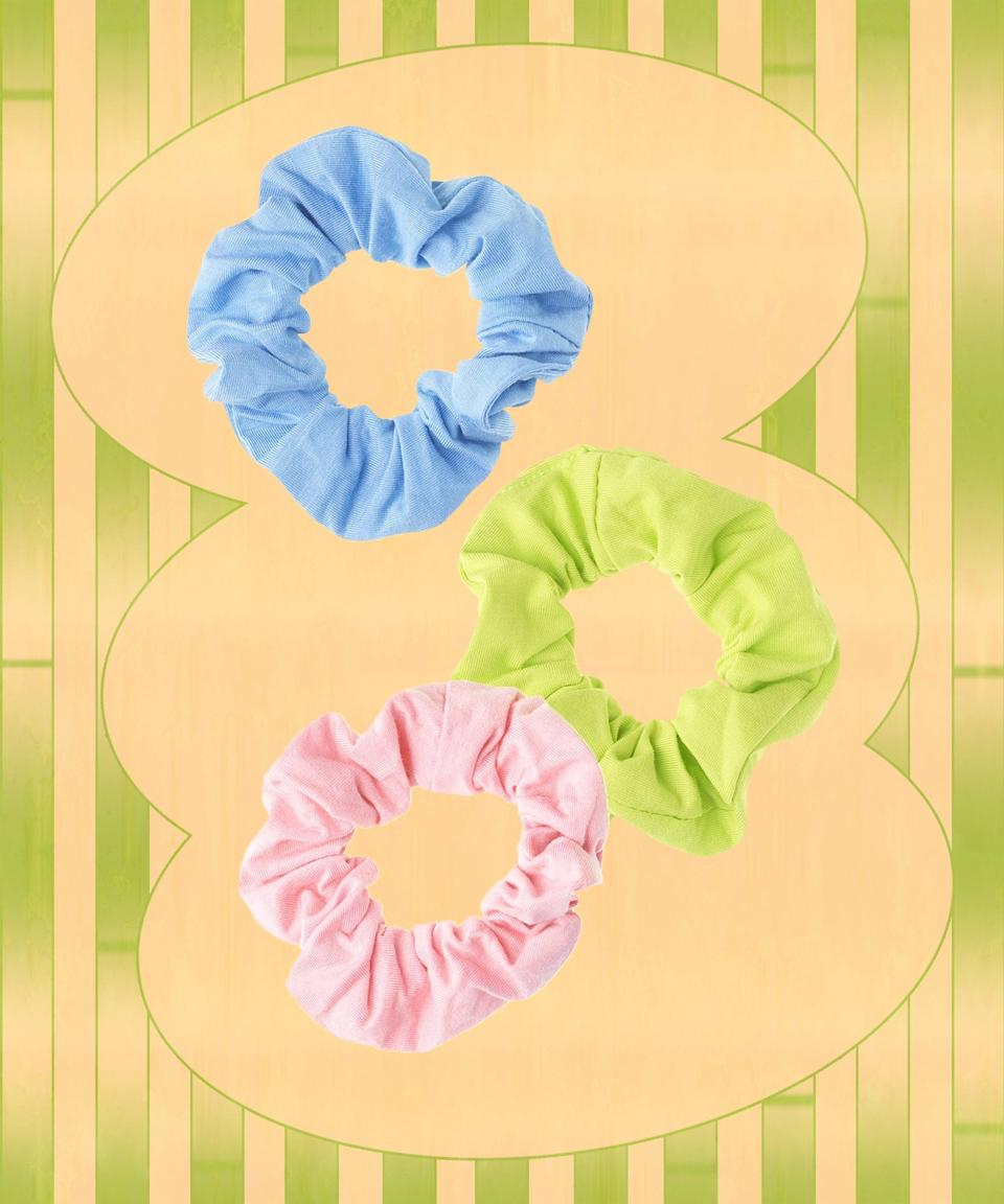 These pastel scrunchies (made from sustainably sourced bamboo fabric) look just as cute on your wrist as they do in your hair.