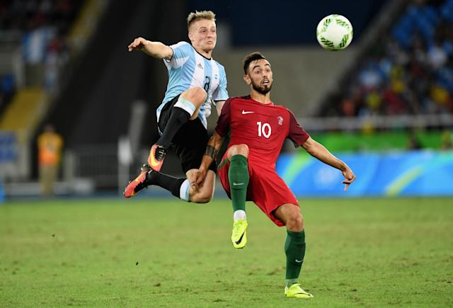 <p>The Argentina midfielder has already played 38 games for North American giants Estudiantes at the age of 20 and played 3 games for the Argentine Olympic team last summer at Rio de Janeiro. </p>