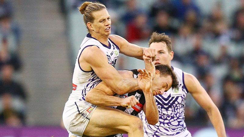Brownlow ban? AFL to review Nat Fyfe hit