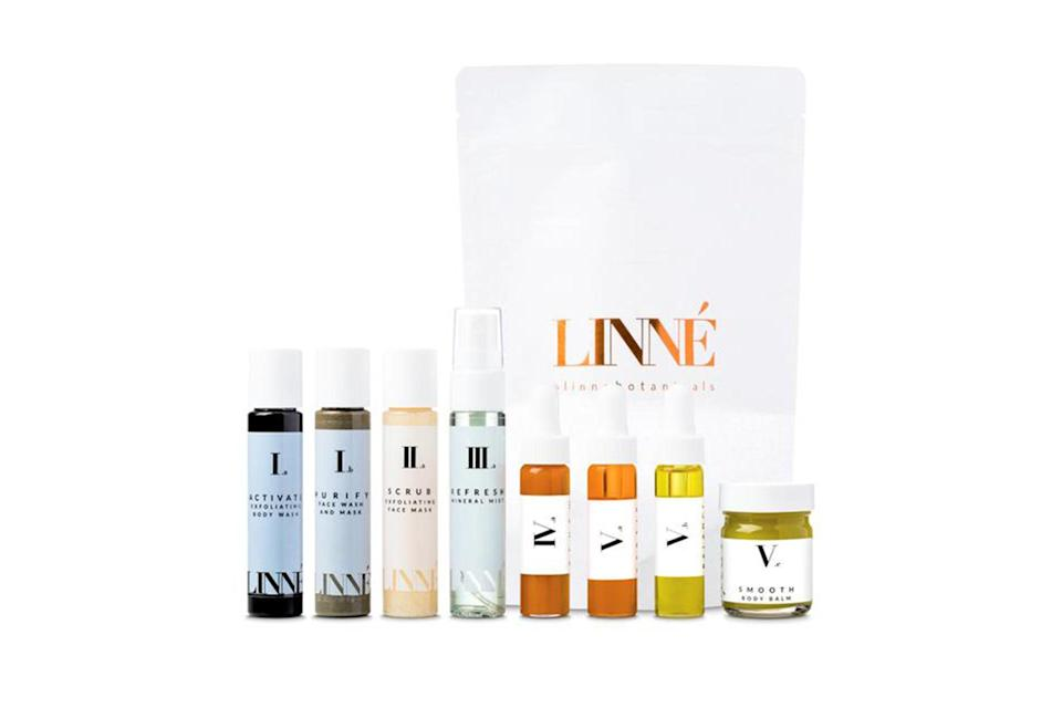 "$150, Linne. <a href=""https://linnebotanicals.com/collections/all/products/full-collection"" rel=""nofollow noopener"" target=""_blank"" data-ylk=""slk:Get it now!"" class=""link rapid-noclick-resp"">Get it now!</a>"