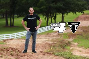 """Ricky Carmichael – The G.O.A.T.  Ricky Carmichael is the greatest motocross racer of all time, aka """"The G.O.A.T"""".  As an amateur RC won 67 National Championships, before turning pro at age 17.  In his pro career, he won a record 15 motocross championships, with two perfect seasons, and a further five supercross championships.  Over both motocross and supercross, RC won an unsurpassed 150 races.  Ever popular in the paddock and with fans, RC voted AMA Rider of the year five times during his career.  Since retirement from professional-level motocross racing as an athlete, RC has still stayed heavily involved in the sport he loves, from owning a championship-winning team, designing tracks for the Daytona Supercross, running Ricky Carmichael University, commentating on the Monster Energy AMA Supercross, and working with Triumph as part of the most exciting development in his sport in decades."""